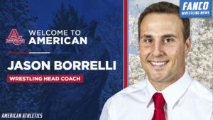 Read more about the article American University Hires Stanford Coach Jason Borrelli as New Head Wrestling Coach
