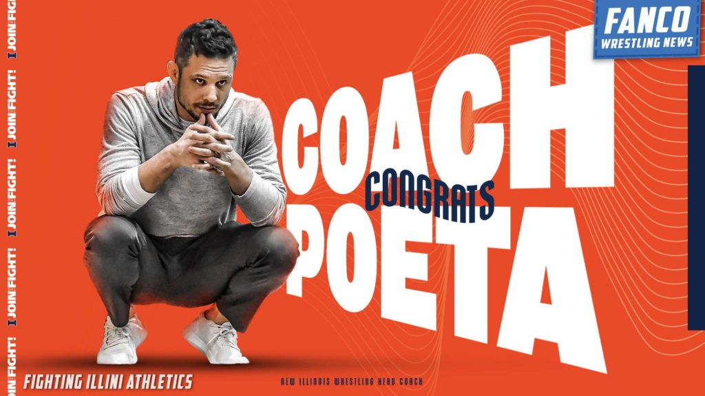 Read more about the article Mike Poeta Named Fighting Illini Head Wrestling Coach