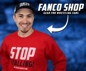 shop fanco wrestling ad