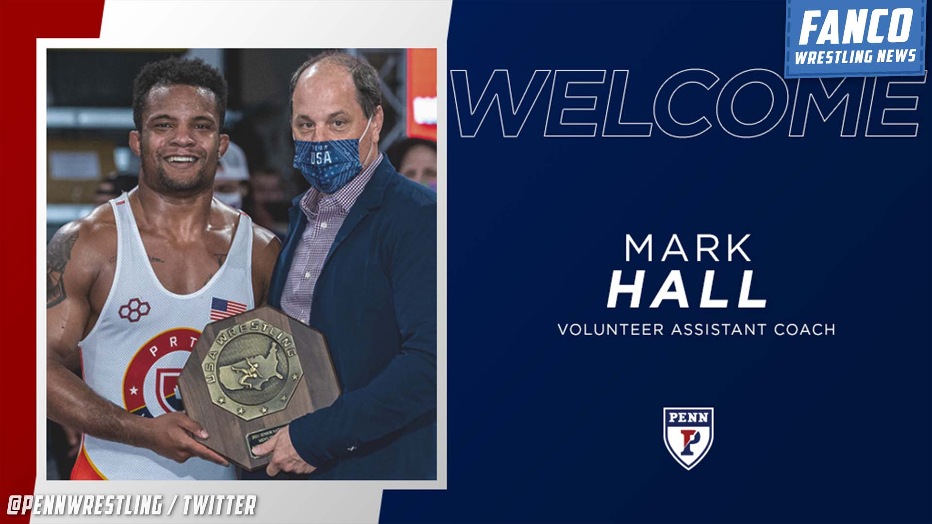 You are currently viewing Mark Hall Hired as Volunteer Assistant Coach