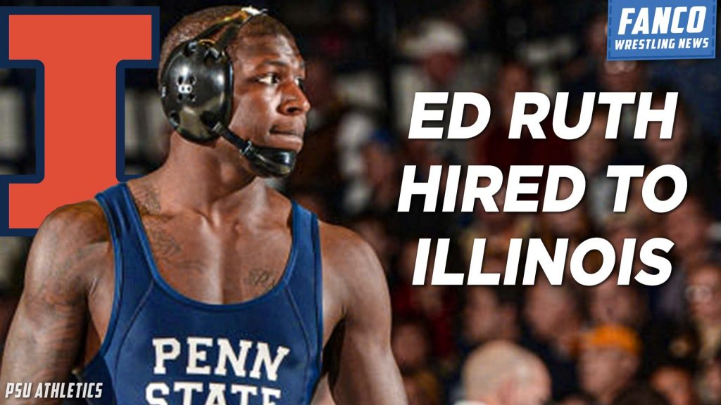 Read more about the article Ed Ruth Makes His Way Back to Folkstyle Wrestling as Illinois Assistant Coach