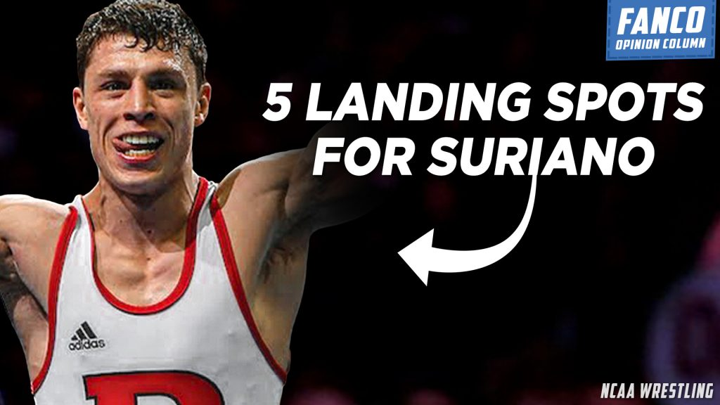 Read more about the article 5 Landing Spots for Nick Suriano to Transfer that Aren't Arizona State