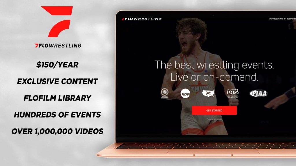what is included in a flowrestling subscription for $150