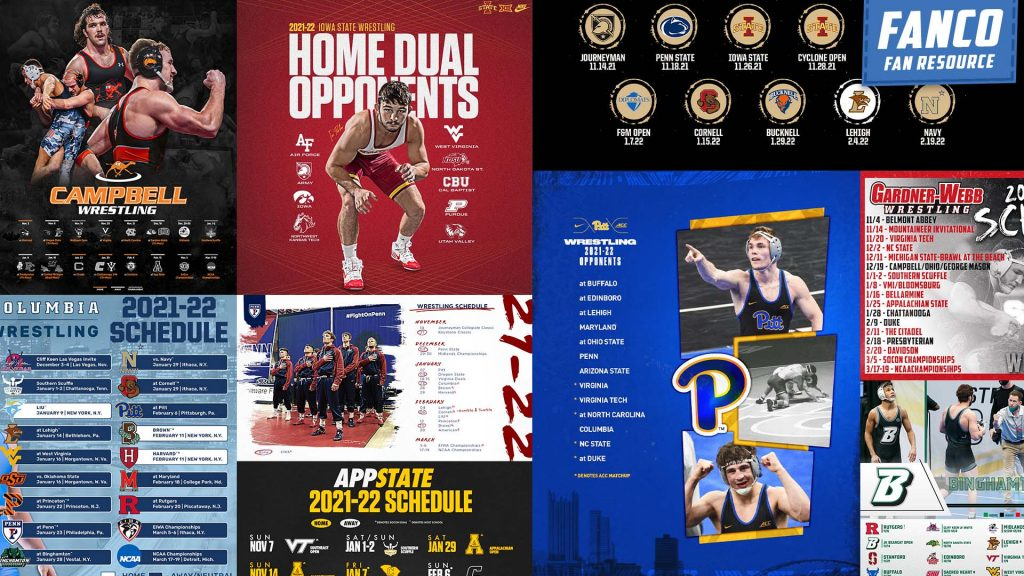 Read more about the article Every 2021-2022 College Wrestling Schedule