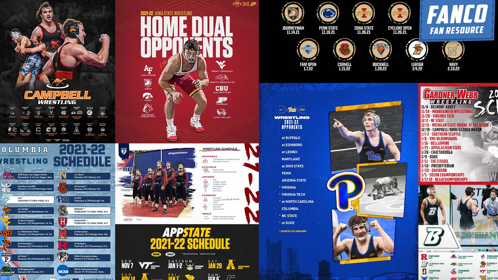 You are currently viewing Every 2021-2022 College Wrestling Schedule