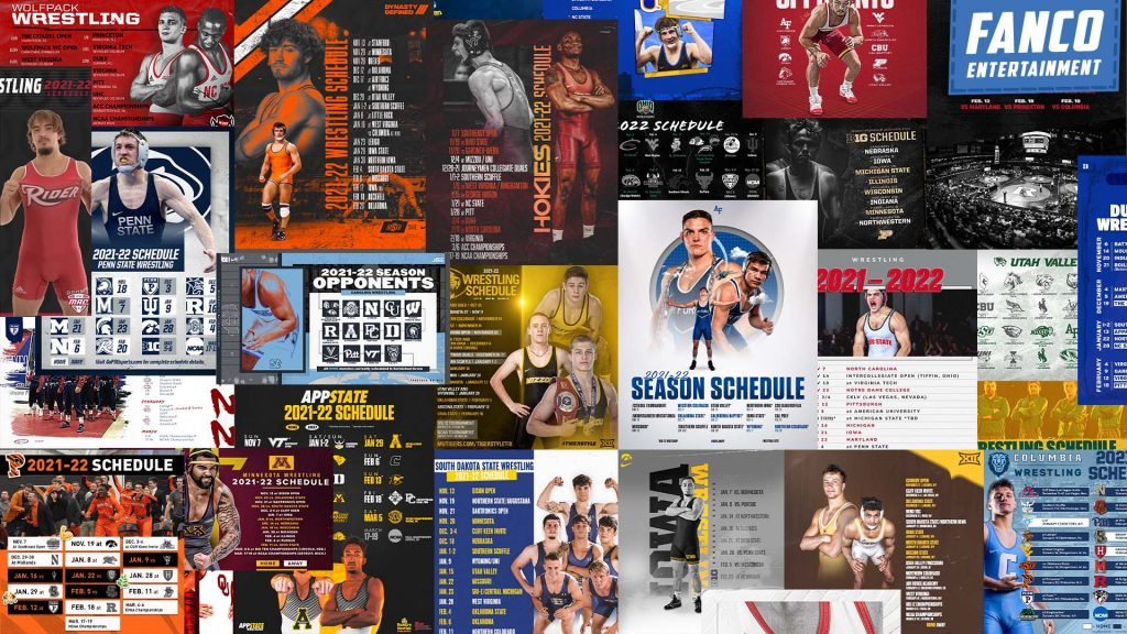 Read more about the article Ranking the Top 25 Wrestling Schedule Graphics (2021-2022)